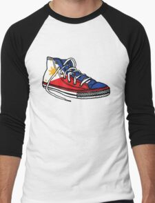 Pinoy Shoe Men's Baseball ¾ T-Shirt