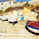 A Mediterranean Cove by Johnathan Bellamy