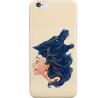 Fear Editorial Traditional Illustration iPhone Case/Skin