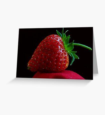OREGON FRESH STRAWBERRY Greeting Card