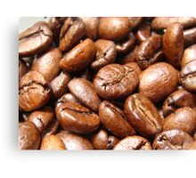 Coffee Beans Canvas Print