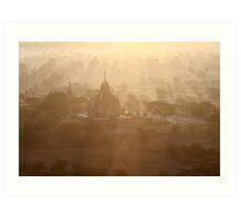 Bagan Art Print