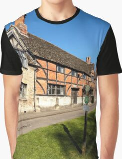 The Old Merchant's Hall, Steeple Ashton, Wiltshire, UK Graphic T-Shirt