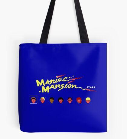 Maniac Mansion Tote Bag