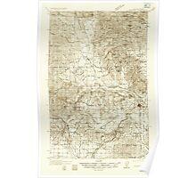 USGS Topo Map Washington State WA Newport 242810 1936 96000 Poster