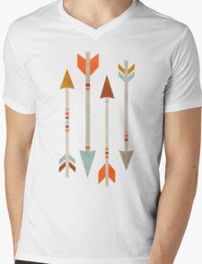 Four Arrows Mens V-Neck T-Shirt