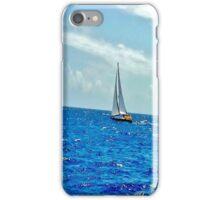 Virgin Islands sailing away iPhone Case/Skin