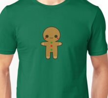 Cute gingerbread man Unisex T-Shirt
