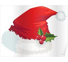 Santa Hat Poster