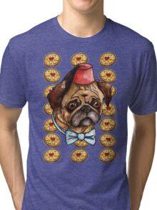 Pug & biscuits Tri-blend T-Shirt