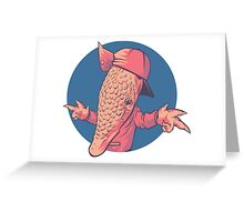 Armadillbro Greeting Card