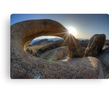 Mobius Arch California Canvas Print
