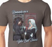 Diamon are a Girl's Best Friend Unisex T-Shirt