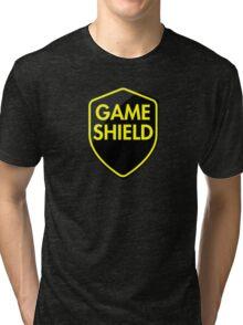 Game Shield (yellow) Tri-blend T-Shirt