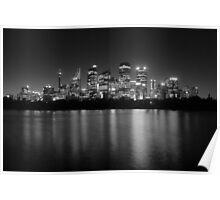 Sydney Skyline 2 Poster