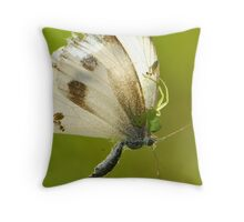 deadly touch Throw Pillow