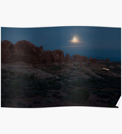 Night Landscape Poster