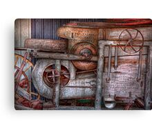 Steampunk - My new and improved machine Canvas Print