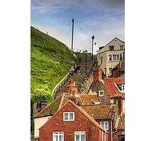 Middle of the Whitby Steps Photographic Print