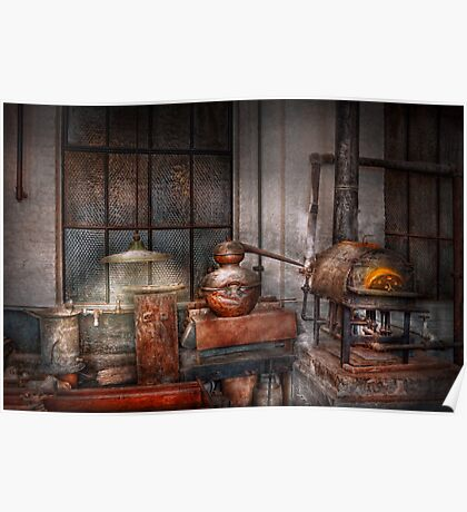 Steampunk - Private distillery  Poster