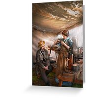 Steampunk - The Apprentice Greeting Card