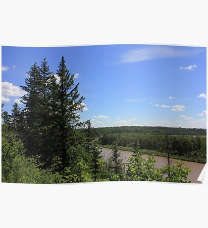 The North Saskatchewan River Poster