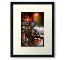 Steampunk - The Golden age of Cinema Framed Print