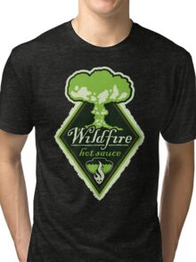 WILDFIRE HOT SAUCE Tri-blend T-Shirt