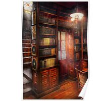 Steampunk - The semi-private study  Poster