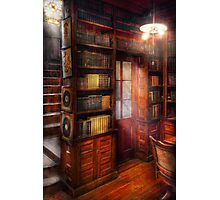 Steampunk - The semi-private study  Photographic Print