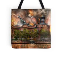 Steampunk - The war has begun Tote Bag