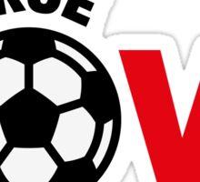 Football – True Love / Soccer – True Love Sticker
