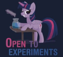 Open to experiments by Stinkehund