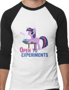 Open to experiments Men's Baseball ¾ T-Shirt
