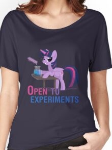 Open to experiments Women's Relaxed Fit T-Shirt