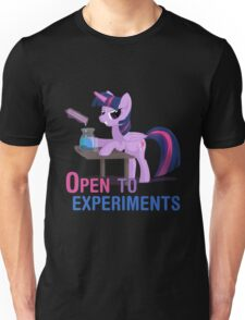 Open to experiments Unisex T-Shirt