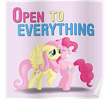 Open to everything Poster