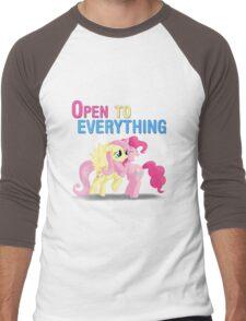 Open to everything Men's Baseball ¾ T-Shirt