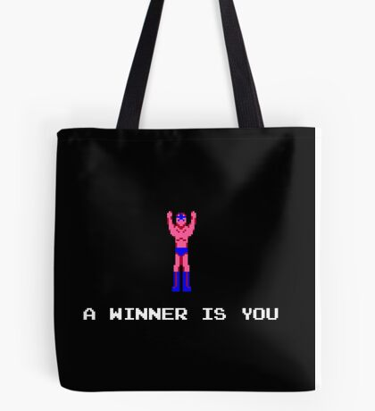 A Winner Is You Tote Bag