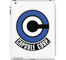 Capsule Corp. Logo - DBZ Cosplay - Trunks alternate iPad Case/Skin