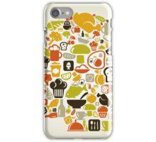 Head food3 iPhone Case/Skin