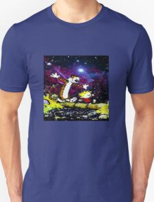 Calvin and hobbes fun in Nebula T-Shirt
