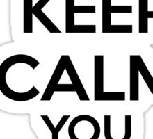 Keep Calm, Mewling Quim  Sticker