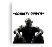 Black Ops 3 Gravity Spikes Tee Canvas Print