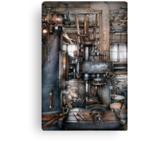 Machinist - My really cool job Canvas Print