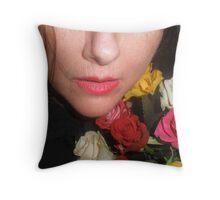 Me & Roses Throw Pillow