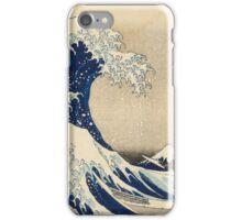 Japanese tsunami iPhone Case/Skin