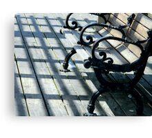 Shadows on the Boardwalk     ^ Canvas Print