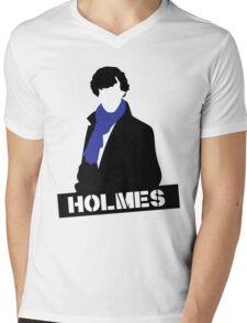 Sherlock Benedict Cumberbatch Holmes  Mens V-Neck T-Shirt