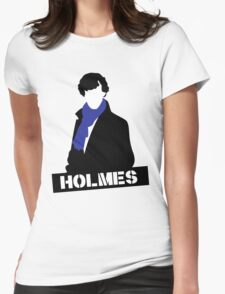 Sherlock Benedict Cumberbatch Holmes  Womens Fitted T-Shirt